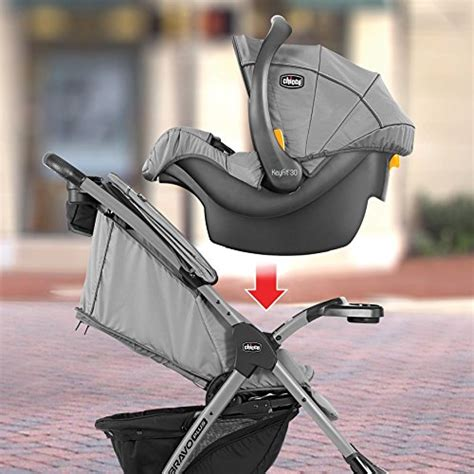 Mini Chicco by Cheap Chicco Mini Bravo Plus Travel System Midnight