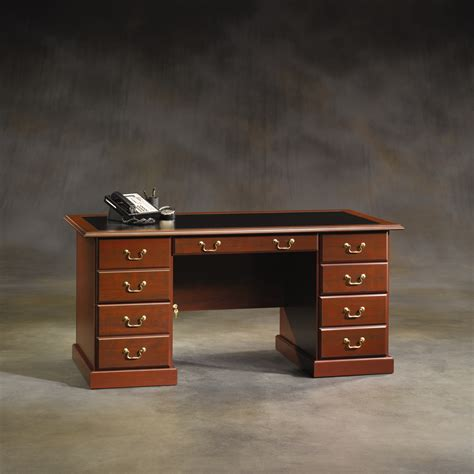sauder heritage hill large executive desk hutch sauder heritage hill executive desk home furniture