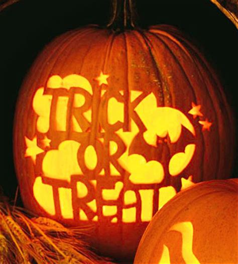 Trick Or Treat Pumpkin Carving Templates Free by Be Different Act Normal Free Pumpkin Carving Templates