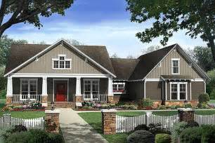 craftsman style house plans one story craftsman style house plan 4 beds 2 5 baths plan 21 295