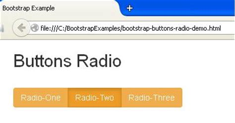 bootstrap radio button bootstrap button plugin