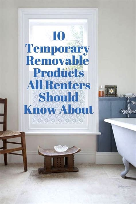 8 Stylish Home Decor Hacks For Renters by 13 Temporary Removable Adhesive Products All Renters