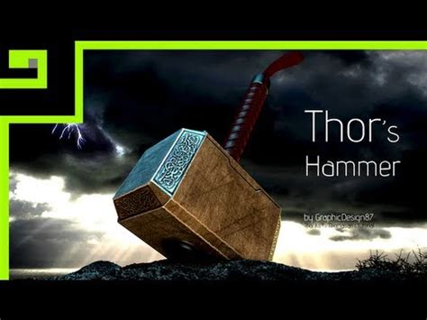 thor 39 s hammer cinema 4d youtube