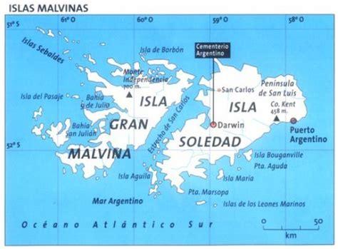 Islas Malvinas (Argentina) Falkland Islands (UK