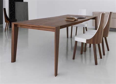 plus walnut dining table contemporary wooden dining tables