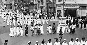 History: 14th Amendment ratified, lynchings protested  14th