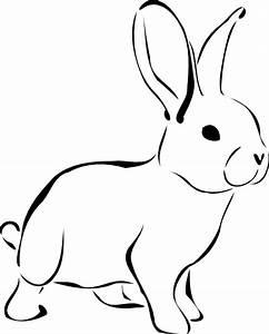 White Rabbit Clip Art at Clker.com - vector clip art ...