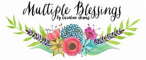 Multiple Blessings by Caroline Simas Faith-Based Home