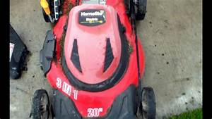 Homelite 20 Inch Electric Lawn Mower