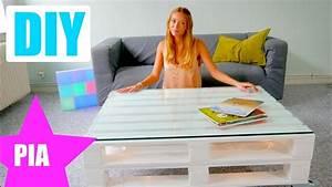 Paletten Tisch Bauen : paletten tisch selber bauen ganz einfach schnell mit ~ Watch28wear.com Haus und Dekorationen