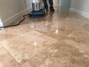 Indoor floor sealing professional floor cleaning for How to clean travertine tile floors