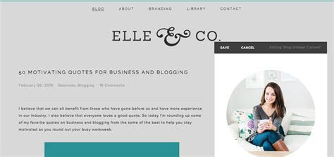 Squarespace Templates With Sidebar by Blogging With Squarespace