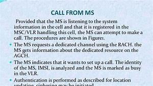 Call Flow Gsm