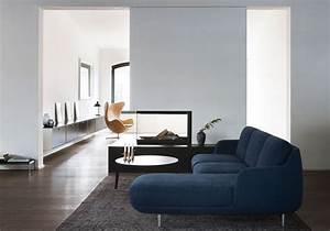 Canapé Bleu Marine : la d coration bleu marine nous inspire et vous elle d coration ~ Teatrodelosmanantiales.com Idées de Décoration