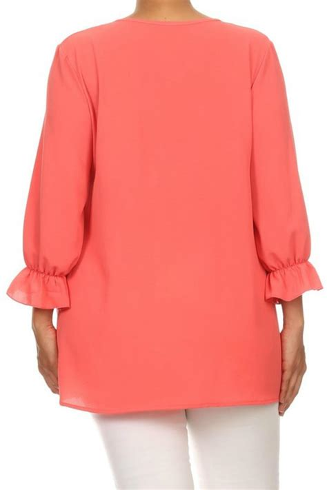 coral blouses and tops moa plus coral blouse from south dakota by sassy spurs