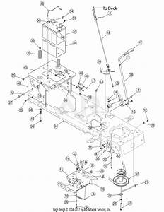 Wiring Diagram  13 Troy Bilt 42 Inch Deck Belt Diagram
