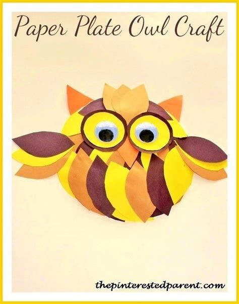 cute owl crafts  kids  pinterested parent