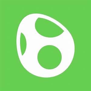 """Yoshi Symbol - Super Smash Bros. (white)"" by hopperograss ..."