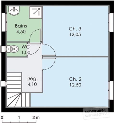 plan maison etage 2 chambres maison méditerranéenne 3 dé du plan de maison