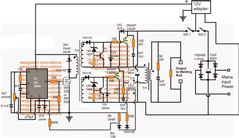 Tl494 Inverter Circuit by Smps Welding Inverter Circuit