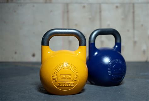 kettlebell yellow competition vinyl