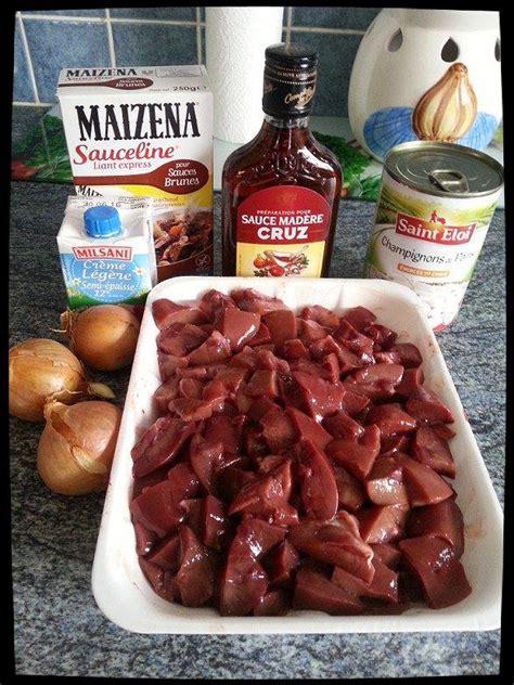 cuisiner rognons de porc rognons de porc sauce champignons et creme mon p 39 resto