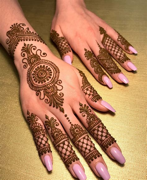 beautiful  mehndi designs  girls