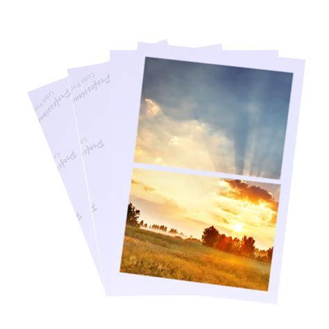 sheets glossy   photo paper  inkjet printer