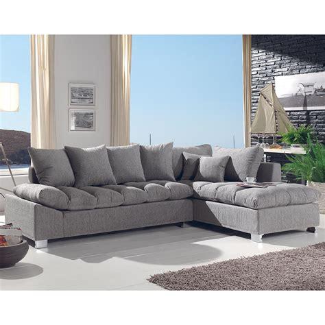 site canapé canapé d 39 angle gris confortable pas cher