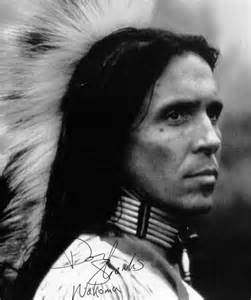 Actor Don Shanks Native American