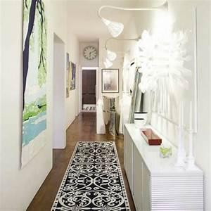 deco couloir amenagement en 30 photos With tapis couloir avec canapé de jardin design