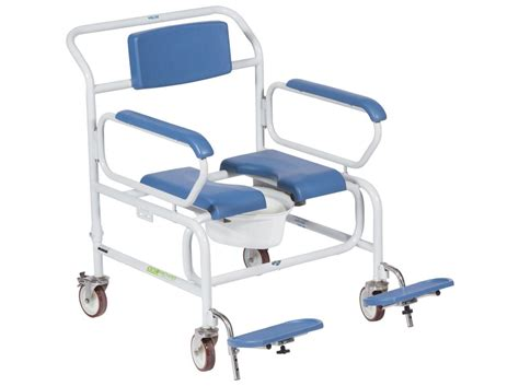 commode shower chair wheeled nightingale beds