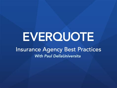 Balakin insurance agency has been established since 1985. EverQuote Upcoming Webinar Schedule