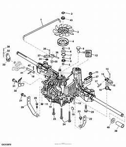 Diagram John Deere Mower Deck L130