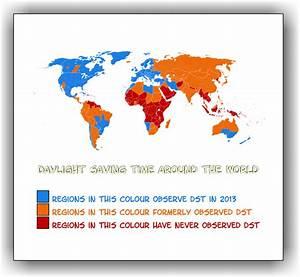 Daylight Savings Time Countries