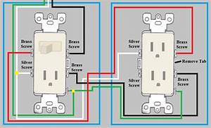 Electrical - How Do I Wire A Duplex Outlet From A Switch  Outlet Combo