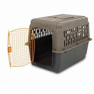 xl dog crate cage 50 70 lb large travel plastic airline With travel large dog crate