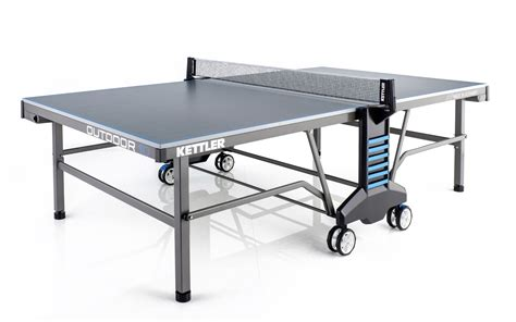 ping pong table accessories kettler outdoor 10 ping pong table with accessories
