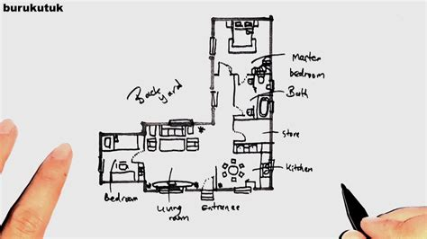 Platinum homes offer a range of modern nz house plans suitable for any new zealand location with a choice of design to suit your needs and budget. 2 Bedroom Small L-Shaped House Floor Plans with Backyard - YouTube