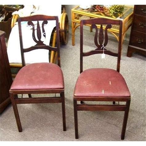 stakmore folding chairs vintage 2 vintage stakmore folding chairs aristocrats 1739250