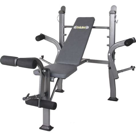 Body Champ Standard Weight Bench With Butterfly Academy