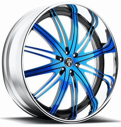 Flex Custom Dub Lug Wheels Chrome C22