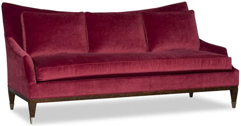 Wingback Loveseat by Upholstered Wingback Sofa