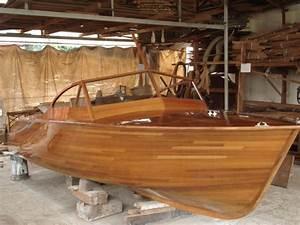 Teak 20 U0026 39  Speed Boat Wood Work Is Finished