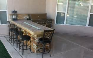outdoor kitchen island barbecue islands las vegas outdoor kitchen
