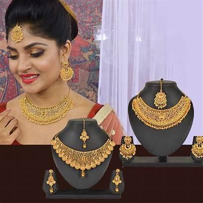 Jewellery Traditional Sets Naaptol Austrian Diamond Utsav