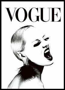 Arte Magazin Kundenservice : schwarz wei es vogue plakat mit frau fashion poster ~ Eleganceandgraceweddings.com Haus und Dekorationen