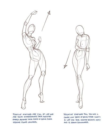 How To Draw A Person Standing Sideways by Artist S Alley Character Design References Https