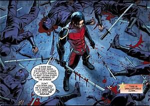 Nightwing Damian Wayne VS League Of Shadows Ninjas