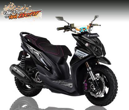 Modifikasi Motor Beat by 15 Foto Gambar Modifikasi Motor Honda Beat Fi Kumpulan